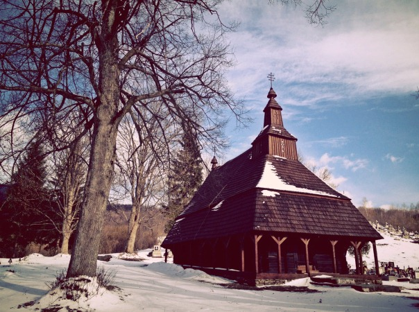 Wooden church in Snina
