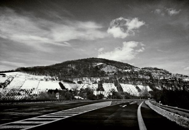 sunny winter ride