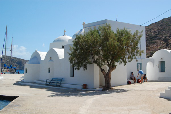 20. Chrissopigi church by the sea