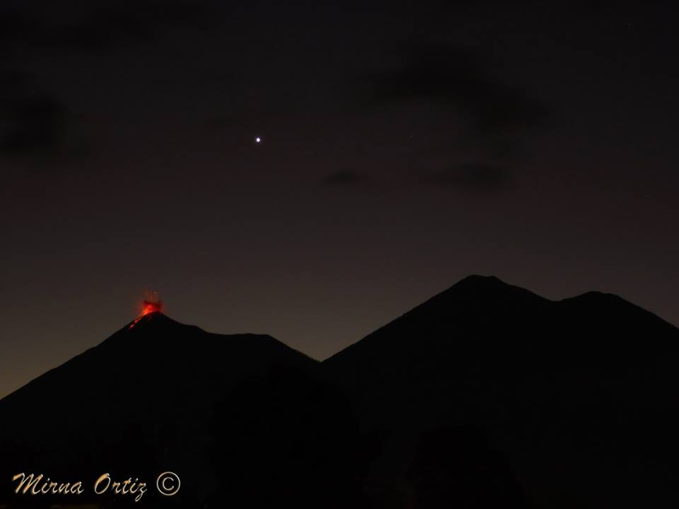 Volcan de Fuego, Mirna