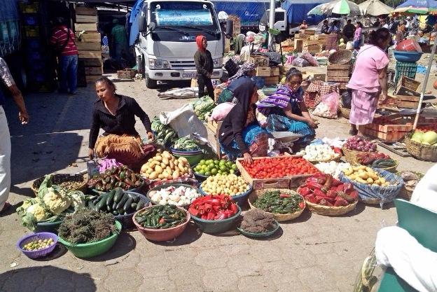 el mercado )