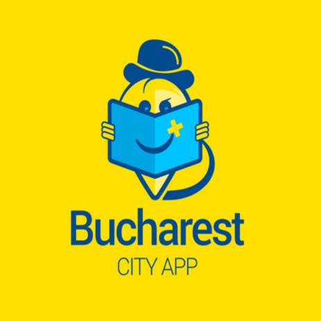 Bucharest city app logo